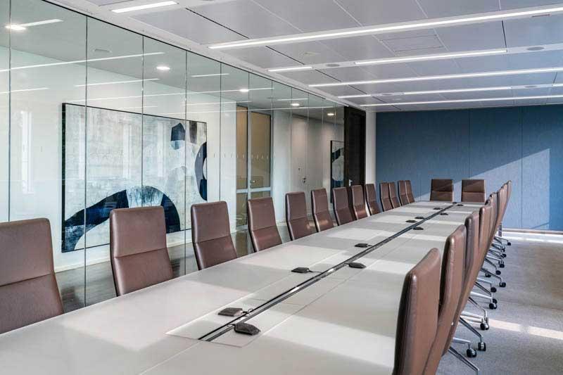 New office design latham watkins frankfurt main landau for Interior design frankfurt