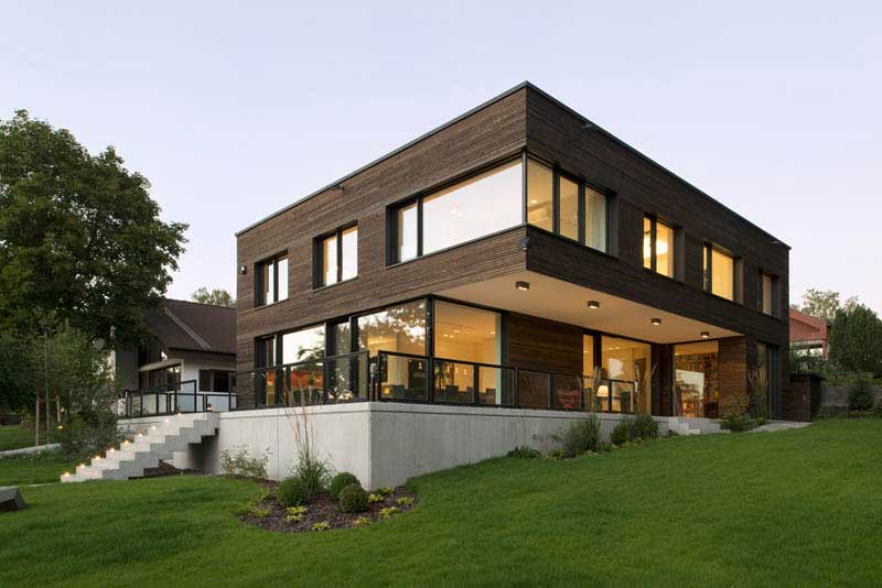 Landau kindelbacher for Wohnhaus modern