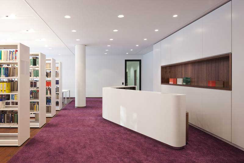 New office design icade premier house munich
