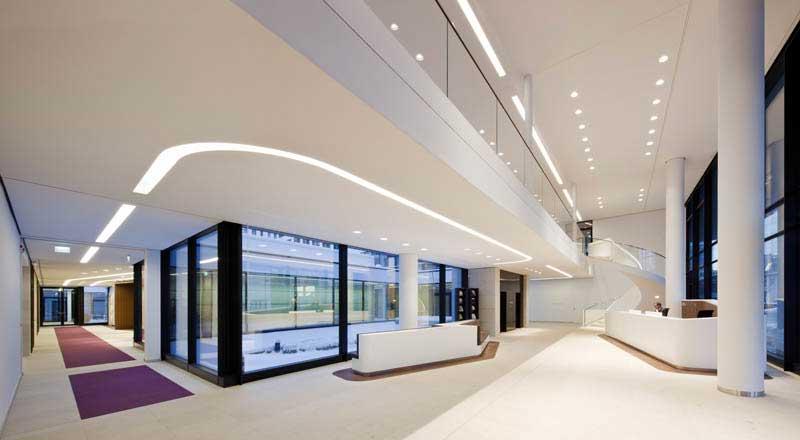 New office design icade premier house munich
